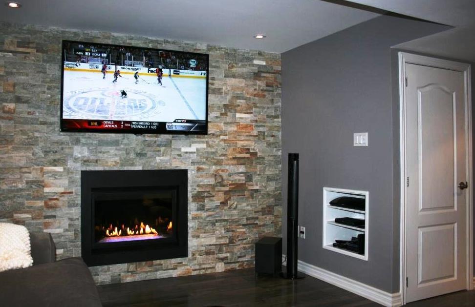 Installing Gas Fireplace In Basement Ideas